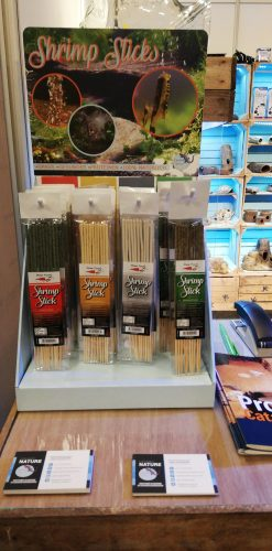 Shrimpstick display
