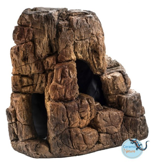 CeramicNature decoration rock 30x17x32
