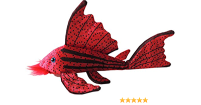 Greenpleco Crimson pleco plush